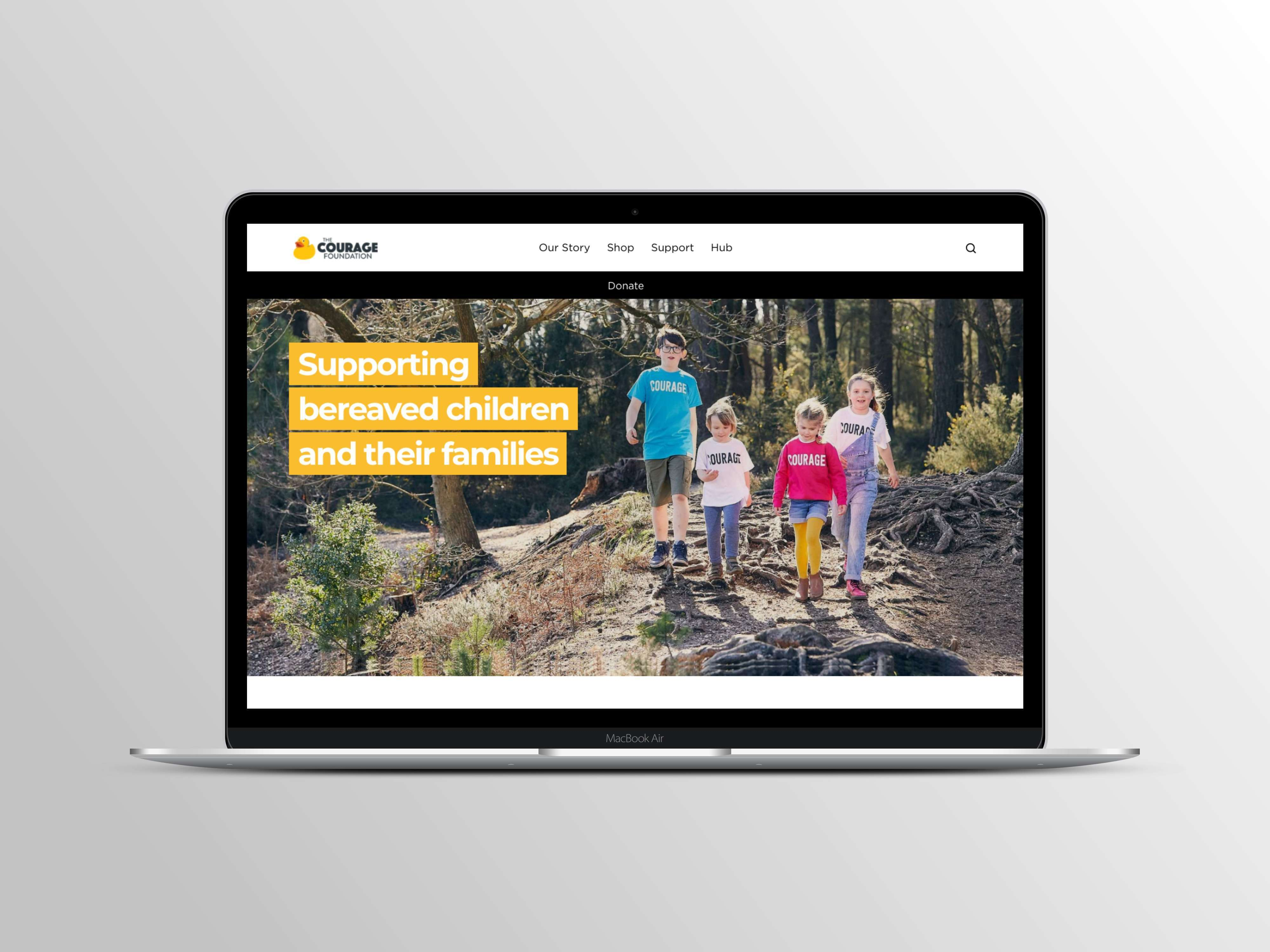 The Courage Foundation's new Shopify site is live!